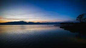Последний свет дня Стоковое Изображение RF