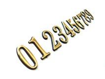 последовательность номеров Стоковые Изображения RF