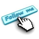 последуйте за мной Стоковые Фото