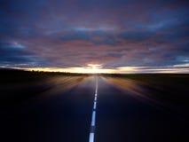 последуйте за солнцем к Стоковое Изображение RF