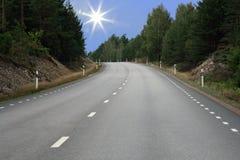 последуйте за солнцем Стоковое Фото