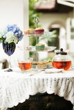 Послеполуденный чай стоковая фотография rf