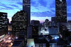 послесвечение New Orleans стоковая фотография rf