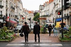 После дождя лета в Blois стоковые фото