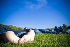 После полудня весны каникулы Стоковые Фотографии RF
