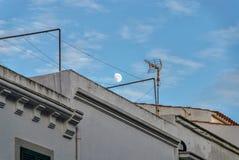 После полудня Alaior, Менорка, Балеарские острова, Испания стоковая фотография