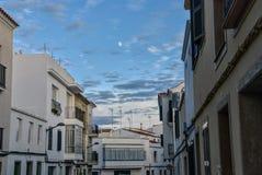 После полудня Alaior, Менорка, Балеарские острова, Испания стоковые изображения rf