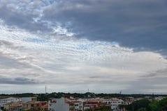 После полудня Alaior, Менорка, balaric острова, Испания стоковые фотографии rf