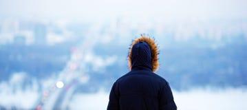 Посмотреть город от Стоковое Изображение