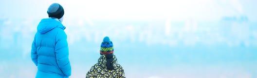 Посмотреть город от Стоковые Изображения RF