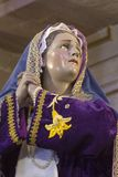 Посмотрите боли Mary, матери Иисуса Христоса Стоковое Изображение