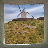 Посмотрите ветрянку стоковые фотографии rf