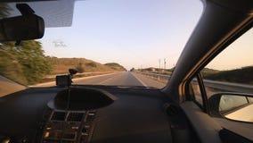 Посмотрите из автомобиля, Греции сток-видео