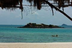 Посмотрите пляж Lom Стоковое Изображение RF