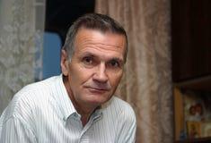 посмотрите старший портрета человека старый Стоковые Фотографии RF