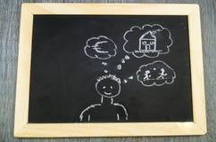 Пособие на ребенка снабжения жилищем Стоковые Изображения