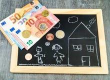 Пособие на ребенка снабжения жилищем Стоковое Фото