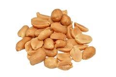 посоленные арахисы Стоковое фото RF