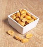 Посоленные арахисы Стоковая Фотография