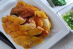 посоленный цыпленок стоковое изображение rf
