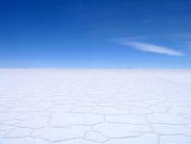 Посолите квартиры Боливию Стоковое фото RF