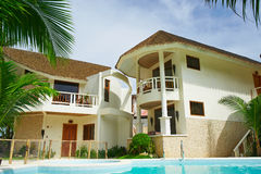 Посол в гостинице рая острова Boracay Стоковые Изображения RF