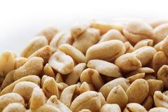 Посоленные чокнутые арахисы Стоковое Фото