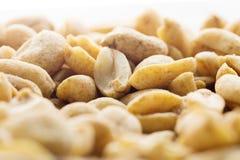 Посоленные чокнутые арахисы Стоковая Фотография