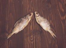 2 посоленных рыбы Стоковое Изображение