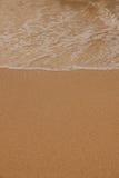 Пляж соли Стоковая Фотография