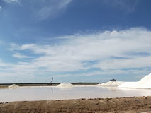Посолите рафинадный завод, бонанцу, Sanlucar de Barrameda Стоковое Изображение