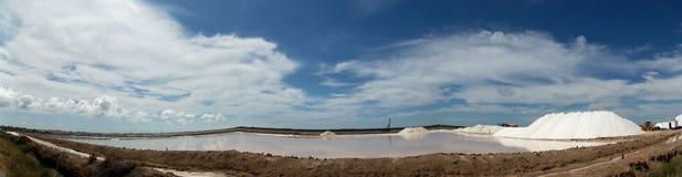 Посолите рафинадный завод, бонанцу, Sanlucar de Barrameda Стоковое фото RF