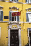 Посольство Черногории в Риме Италии Стоковые Изображения