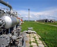 поставка газа Стоковые Фото