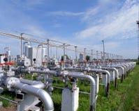 поставка газа Стоковое Фото