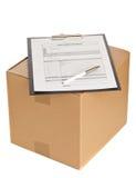 Поставка пакета Стоковое Изображение RF