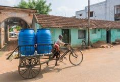 Поставка питьевой воды в Kothamargalam Стоковые Фотографии RF