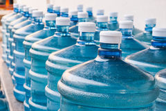 Поставка питьевой воды Стоковые Фото