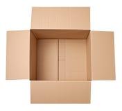 Поставка транспорта пакета картонной коробки moving Стоковое Изображение RF