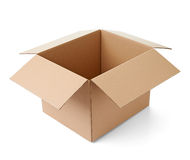 Поставка транспорта пакета картонной коробки moving Стоковое Фото