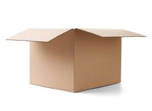 Поставка транспорта пакета картонной коробки moving Стоковые Изображения RF