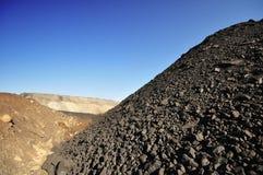 Поставка угля Стоковое Фото