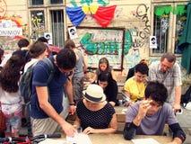Поставка 2014 улицы стоковая фотография rf