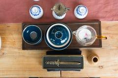 Поставки чая стоковая фотография