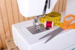 Поставкы и швейной машины стоковое фото rf