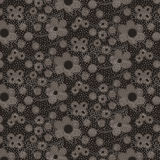поставленная точки картина цветков Стоковое Изображение