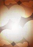 Поставленная точки предпосылка Стоковые Фото