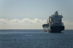 поставленный на якорь порт Стоковая Фотография