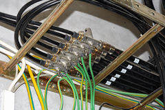 Поставщик антенного кабеля. Стоковые Изображения