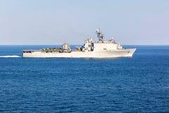 Поставщик военного корабля в процессе Стоковое Изображение RF